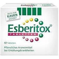 Esberitox Tabletten Spar Set: 2 x 60 St. verkürzt die Erkältung, Pflanzenpower gegen die Erkältung,mit drei pflanzlichen... preisvergleich bei billige-tabletten.eu