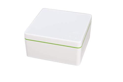 ajaa! Bio Aufbewahrungsbox aus nachwachsenden Rohstoffen ohne Weichmacher, plastikfrei, BPA frei (0.6l, lime)