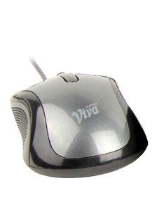 CLiPtec Viva Red-Optic Mouse - grau -