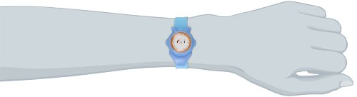 Alessi Kinder-Armbanduhr Analog Quarz Plastik blau AL23000 - 2