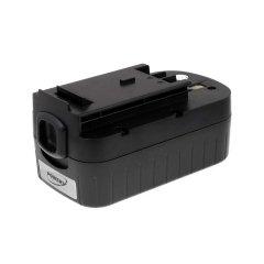Akku für Black & Decker Astsäge GPC1800 japan. Zellen, 18V, NiCd