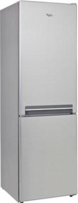 Whirlpool BLFV8001OX Autonome 227L 111L A+ Acier inoxydable réfrigérateur-congélateur - réfrigérateurs-congélateurs (Autonome, Bas-placé, A+, Acier inoxydable, N-T,