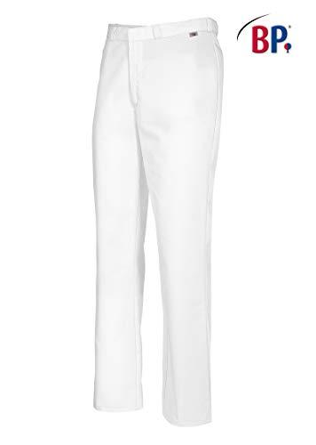 BP 1672 558 unisex Hose aus strapazierfähigem Mischgewebe weiß, Größe XLn