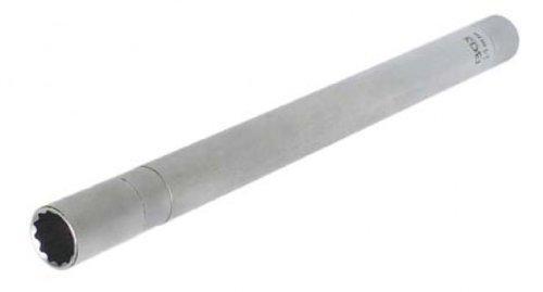 BGS Zündkerzen-Einsatz 14 mm, mit Magnet, 12-kant, 10 mm, 3/8 Zoll, Länge 250 mm, 2447