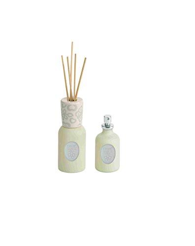 THUN Set diffusore + Spray Coccole di Cotone, 100 ml, fragranza Naturale