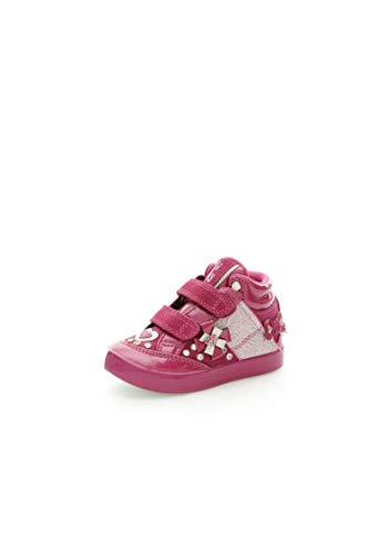 Lelli Kelly - Zapatos Primeros Pasos para niña Rosa Rosa 25