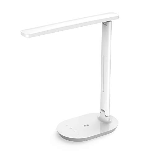 Lámpara Escritorio LED TaoTronics Flexo de Escritorio (5 Niveles ...