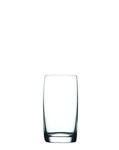 Spiegelau & Nachtmann, 4-teiliges Saft-/WasserGläser-Set, Kristallglas, 340 ml, Winelovers, 4090189, 12.7  x  6.9  x  6.9 cm, klar - Saft-set