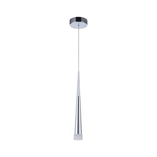 Lámpara colgante moderna, STARRYOL 7W LED Lámpara de techo con estilo cono, perfecta para sala de estar, restaurante, dormitorio, cafetería, etc.