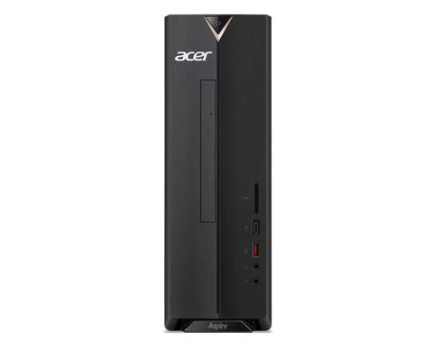 Acer Aspire XC-885 Desktop PC (Intel Core i5-8400, 8GB RAM, 128GB SSD, 1.000GB HDD, NVIDIA GeForce GT 1030, Win 10 Home) schwarz
