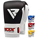 RDX Rindsleder Gel Sparring Boxhandschuhe Stanzen Handschuhe Trainings Muay Thai