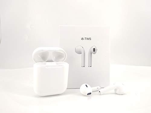 Auricular Bluetooth inalámbrico Compatible con iOS y Android, con microfono y Estuche de Carga. Compatible con iPhone, Samsung, etc