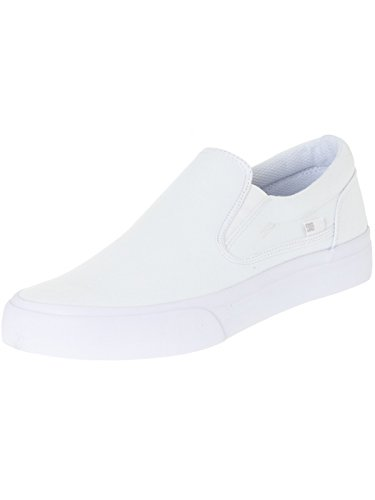 DC Shoes Trase Slip-on T M Shoe Nvy, Low-Top Chaussons homme Blanc - blanc
