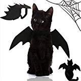 huangliao Halloween-Kostüm für Kleine Hunde und Katzen, Verstellbare Katzen, Fledermausflügel, Welpen-Kleidung für Halloween, Cosplay, Party
