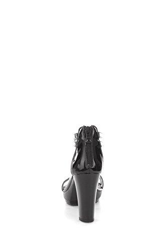 Nero Giardini P615512D Sandali Donna Nero