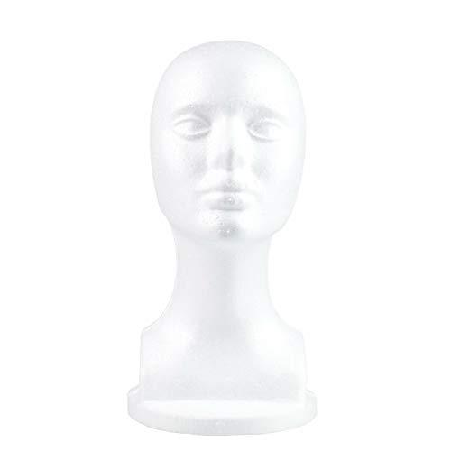 Styropor weiblicher Schaufensterpuppe für Hüte, Perücken, Schulterschaum