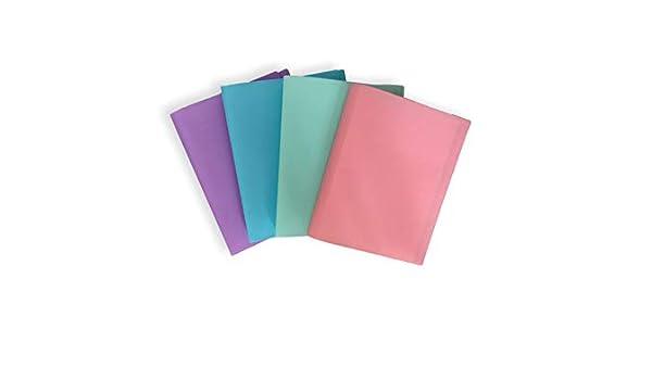 Pack of 12 Folders Ocean /Ás Wave OCW20060 Pastel