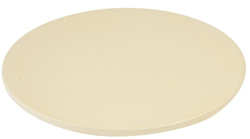 Pizzacraft PC0113 Round Glazed Pizza Stone, Yellow, 14-Inch