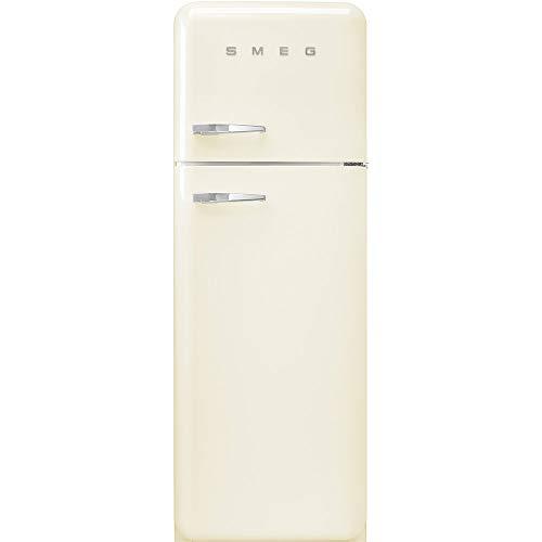 Smeg FAB30RCR3 Kühl-Gefrier-Kombination Cremefarben 294 l A+++ - Kühl-Gefrier-Kombination (294 l, SN-T, 4 kg/24 h, A+++, neue Abteilung, cremefarben
