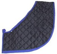 Hunter Bib (Quilted Anti- Rub Shoulder Guard (Vest/ Bib) to protect rubbing from rugs, available sizes: Medium (M))