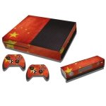 RISHIL WORLD Chinese Flag Pattern Decal Stickers for Xbox One Game Console
