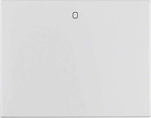Hager 14257103 Interruptor de luz Aluminio - Interruptores de luz (Aluminio, Aluminio,...