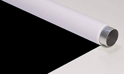 Oferta de fondart Fondo Reversible, 145 x 450 cm, Vinilo, Blanco y Negro