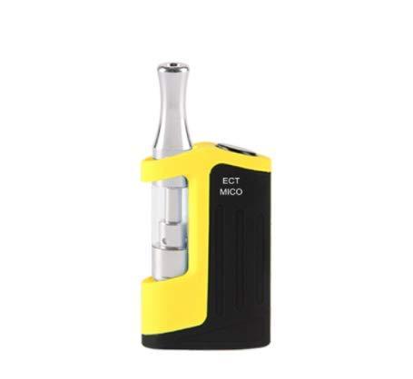 DMMW Elektronische Zigarettenrauchset (Color : Yellow)