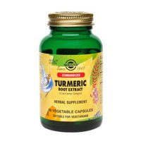 Solgar Standardized Turmeric Root Extract Vegetable Capsules