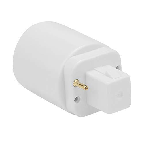 Nncande 5 PCS Eradapter Buchsen G24 to E27/26 Plug Adapter Lamp Socket -Glühlampe Adapter Lampenhalter - 2/4 Pin 15 / 22MM - Geeignet Für LED, Halogen-glühfaden, Glühlampe Oder CFL-glühlampe
