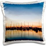 harbors-rockport-texas-harbor-at-sunset-16x16-inch-pillow-case
