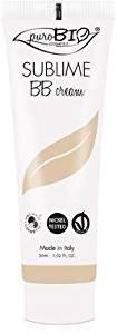 PUROBIO - BB Cream - Couverture moyenne, Texture légère - Couleur 01 - Vegan, Certifié Bio, Nickel Tested, Fabrique in Italie