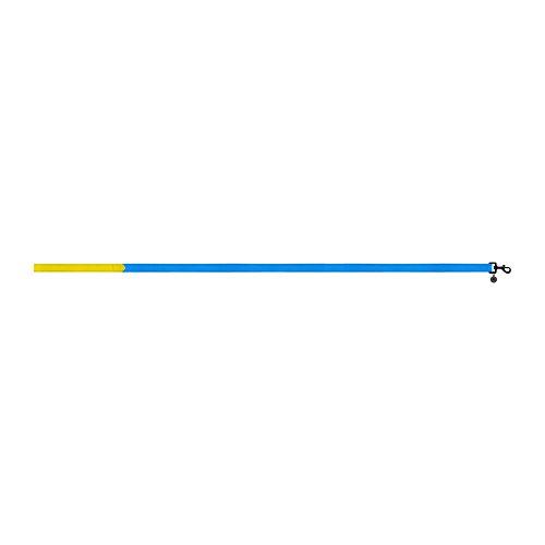 Sotnos Block führen, 1,5x 120cm, gelb/blau -