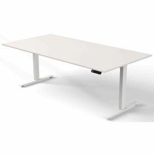 Kerkmann Schreibtisch Move 3 elektr. höhenverstellbar BxT 200x100cm weiß