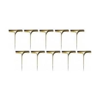 Musterbeutelklammern rundkopf  500 Stück Norrun® Musterbeutelklammern Rundkopf Verschlussklammern ...