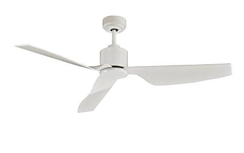 Lucci air Airfusion Climate II Deckenventilator, 127 cm Durchmesser, Weiß, ECO-DC-Motor energiesparend (35 W), mit Fernbedienung (6 Stufen), Sommer/Winter Lauf -