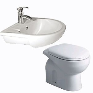 Bathroombarry Btw Pan And Semi Recessed Basin