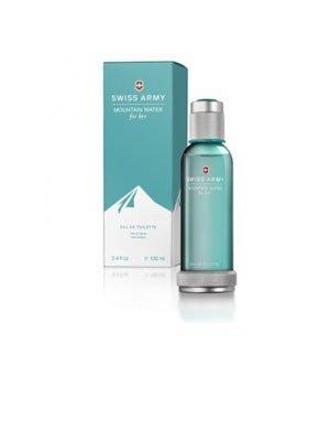 Swiss Army Mountain Water For Her POUR FEMME par Swiss Army - 100 ml Eau de Toilette Vaporisateur