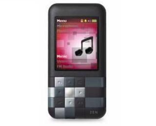 Creative Zen Mozaic MP3-Player 4 GB schwarz Zen Multimedia-player