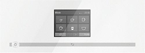 Miele CM7500 Stand-Kaffeevollautomat / Brilliantweiß / Automatische Entkalkung, Kaffee und Tee, OneTouch- und OneTouch for Two-Zubereitung -