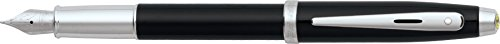 sheaffer-ferrari-100-medium-nib-fountain-pen-gloss-black