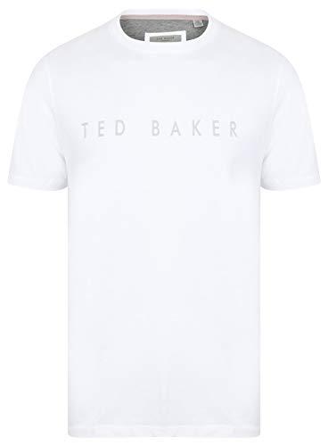 Ted Baker T-Shirt mit erhöhtem Logo, Gr. XL, Weiß (Ted Für T-shirts Männer Baker)