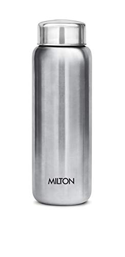 Milton Aqua 750 Stainless Steel Water Bottle, 750 ml, Silver