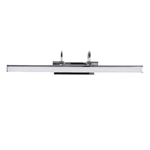 Luce frontale a specchio - luce per specchio da bagno in acrilico lampada da parete moderna semplice luce per armadio a specchio led impermeabile e antinebbia (bicolore),m