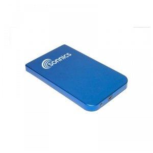 Sonnics 250GB 6,3cm disco rigido esterno tascabile USB per PC, laptop, Mac e Playstation 3–blu