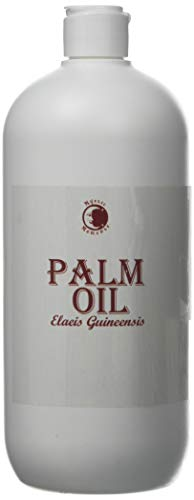 Palm Carrier Oil - 1000ml - 100% Pure 100% RSPO/Certified Sustainable