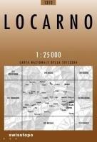 Swisstopo 1 : 25 000 Locarno: Centovalli - Moghegno - Ascona