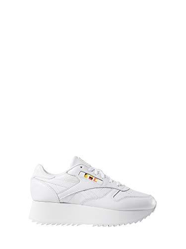 Reebok Damen Sneakers Classic Leather Double weiß -