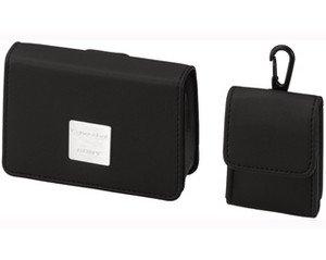 Sony LCS-THC Ledertasche passend für Sony DSC-T77 / DSC-TX5 / DSC-T700 / TX1 / WX1 / TX7 / T90 / DSC-T500 / T300 / Sony T200 / Sony T50 / Sony T20 und Casio EX-S12 / EX-S880 / EX-Z2000 / EX-Z550; EX-Z330 / EX-FC100Z75 / Z77 / Z1080 / Z1200 / S10 Tx1 Kamera