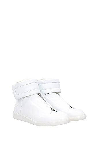 S37WS0262SX8966102 Martin Margiela Sneakers Homme Cuir Blanc Blanc
